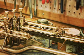 close up repair of baritone