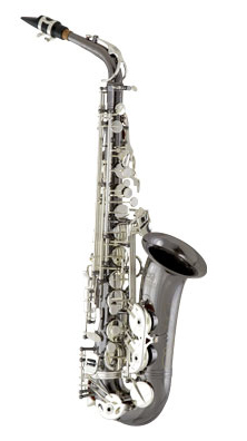eastman professional saxophone black/silver lacquered